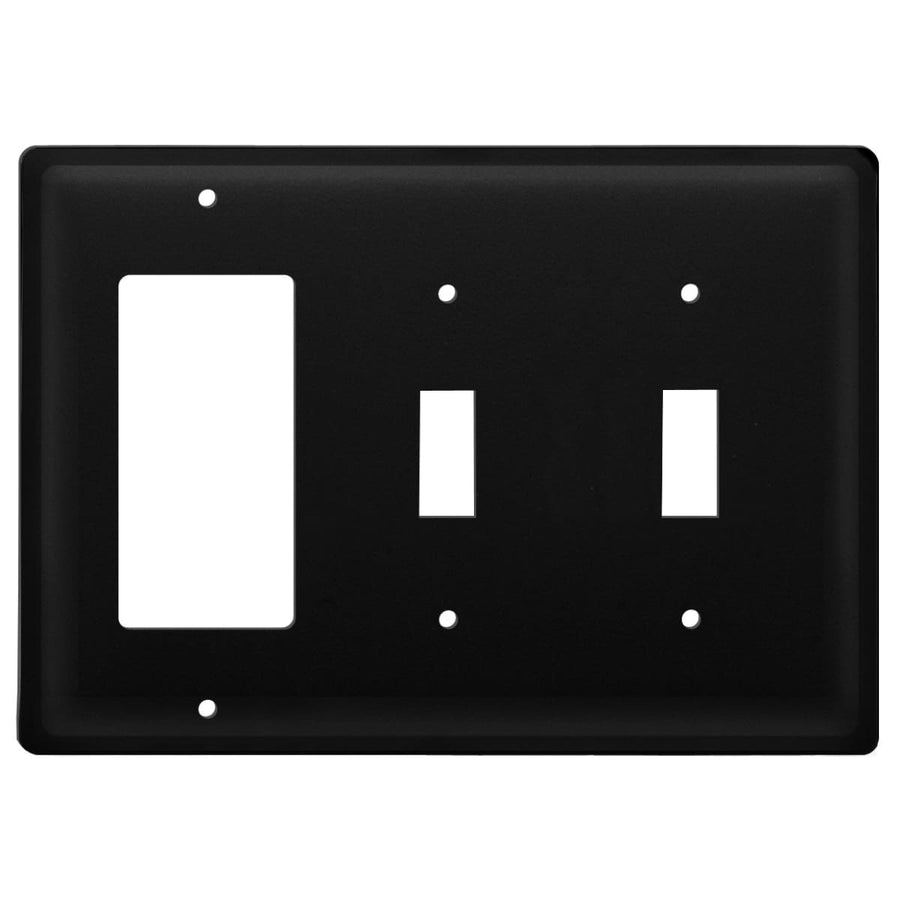 Wrought Iron Plain GFCI Double Switch Cover light switch covers lightswitch covers outlet cover