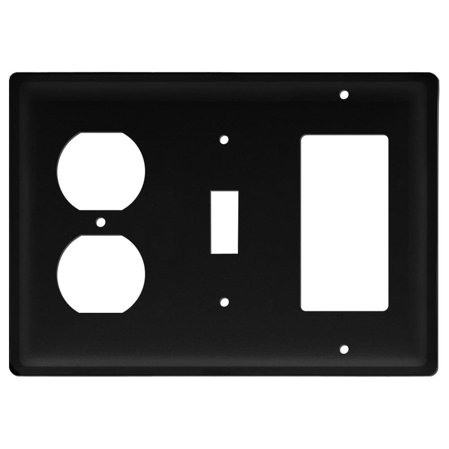 Wrought Iron Plain GFCI Switch Outlet Cover light switch covers lightswitch covers outlet cover