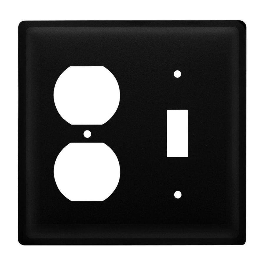 Wrought Iron Plain Outlet & Switch Cover light switch covers lightswitch covers outlet cover switch
