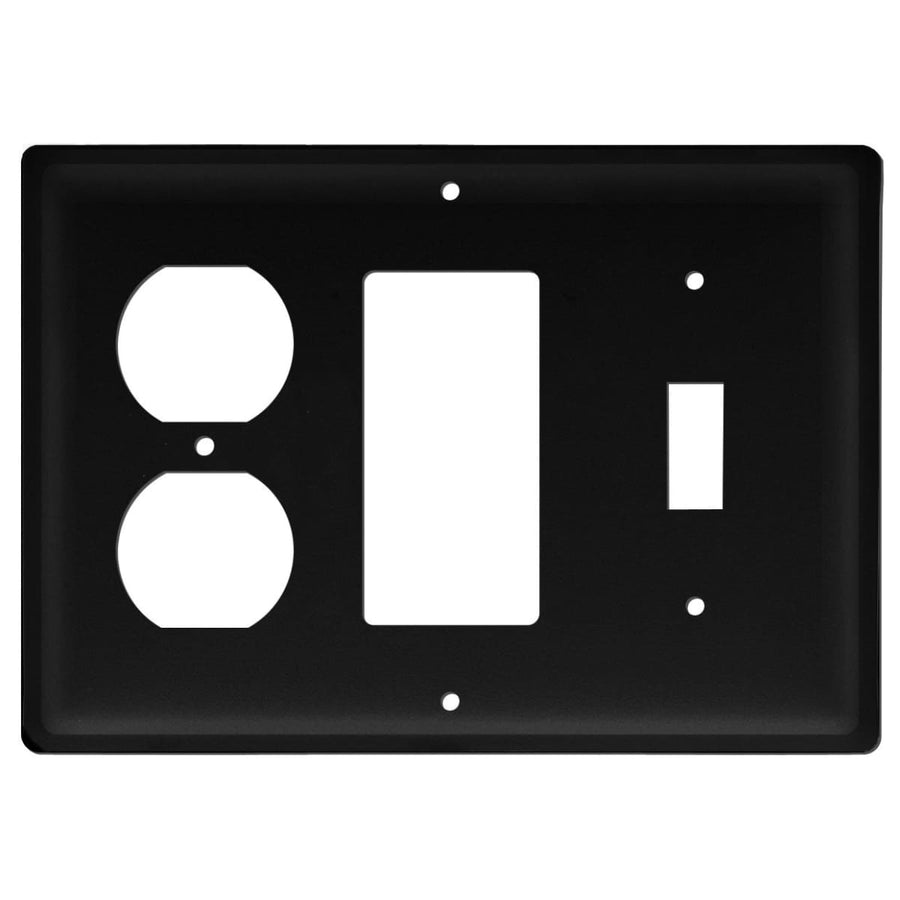 Wrought Iron Plain Switch GFCI Outlet Cover light switch covers lightswitch covers outlet cover