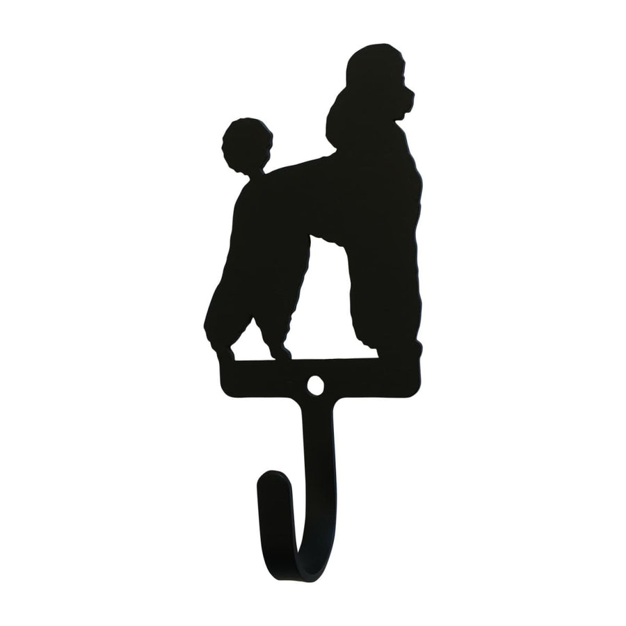Wrought Iron Poodle Wall Hook Decorative Small new Poodle Wall Hook wall hook Wrought Iron Poodle