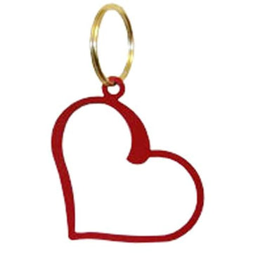 Wrought Iron Red Heart Keychain Key Ring key chain key pendant key ring keychain keyrings