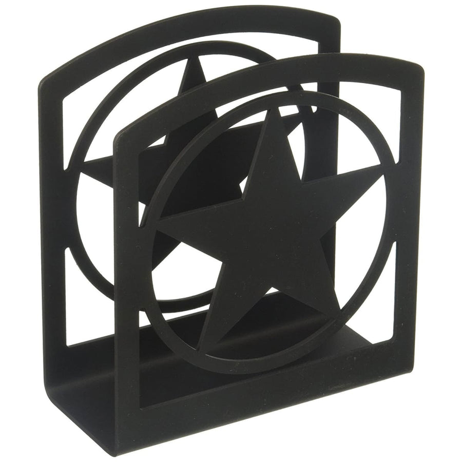 Wrought Iron Rodeo Star Napkin Holder cocktail napkin holder napkin holder serviette dispenser
