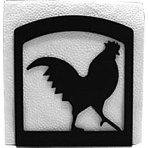 Wrought Iron Rooster Napkin Holder cocktail napkin holder napkin holder serviette dispenser