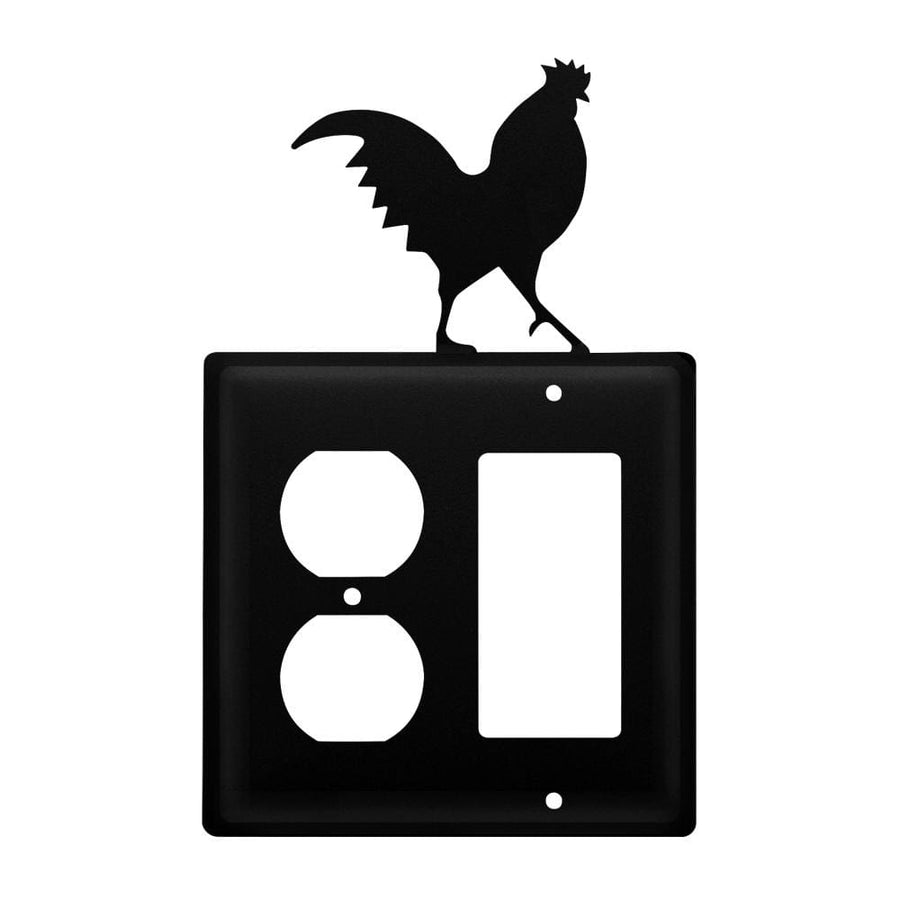 Wrought Iron Rooster Outlet Cover & GFCI light switch covers lightswitch covers outlet cover switch