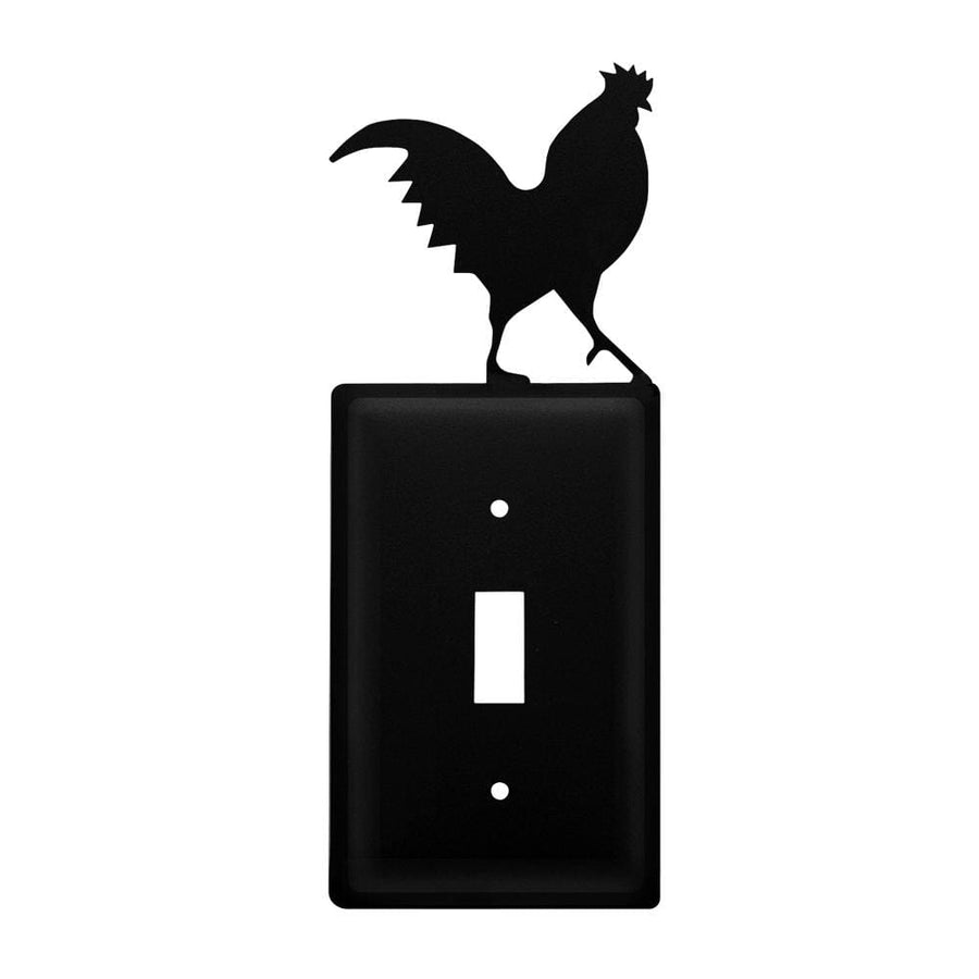 Wrought Iron Rooster Switch Cover light switch covers lightswitch covers outlet cover switch covers