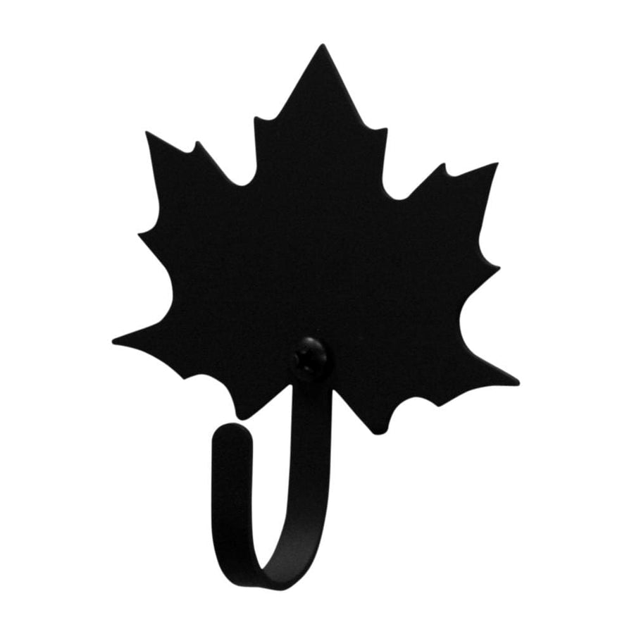Wrought Iron Small Autumn Maple Leaf Wall Hook Decorative Small Autumn Decorations Autumn Maple Leaf