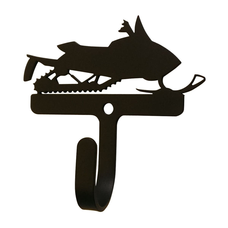 Wrought Iron Snowmobile Wall Hook Decorative Small Christmas decorations new Snowmobile Wall Hook