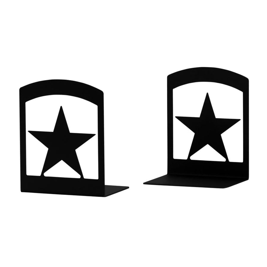Wrought Iron Star Book Ends Set book end bookends childrens bookends star bookends