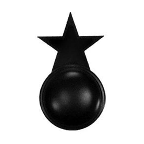 Wrought Iron Star Cabinet Door Knob door hardware door knob doorhandles doorknobs handmade knobs