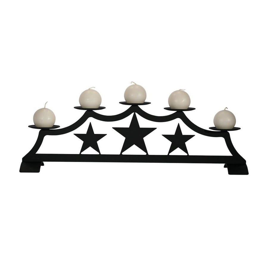 Wrought Iron Star Fireplace Pillar Holder candle holder candle wall sconce center pieces sconce wall