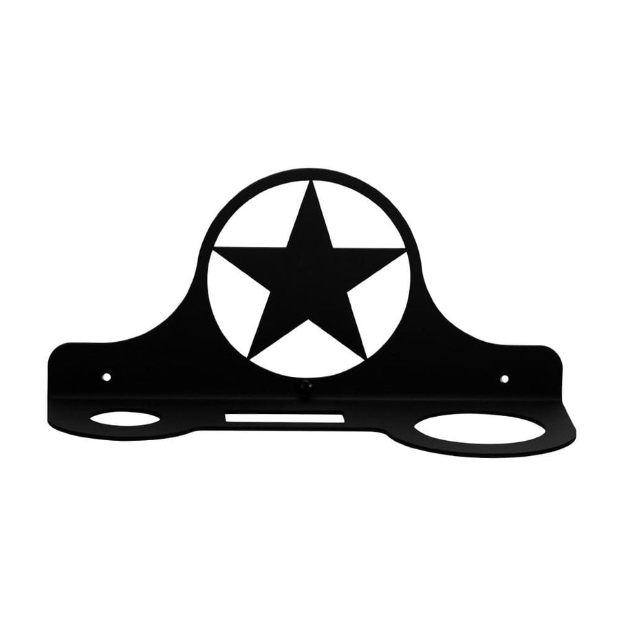 Wrought Iron Star Hair Dryer Holder Rack dryer rack hair dryer hair dryer holder hair dryer rack
