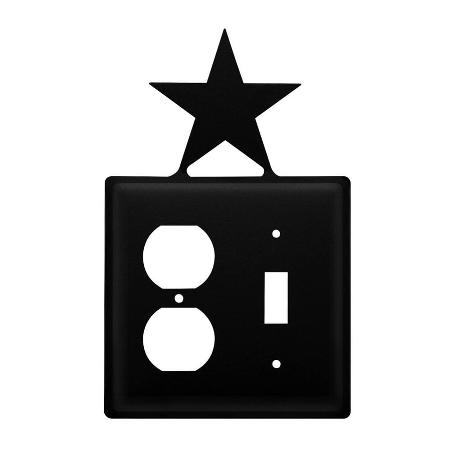 Wrought Iron Star Outlet & Switch Cover light switch covers lightswitch covers outlet cover switch