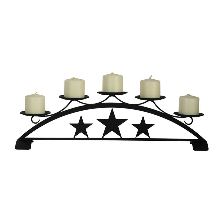 Wrought Iron Star Table Top Center Piece candle holder candle wall sconce center pieces sconce wall