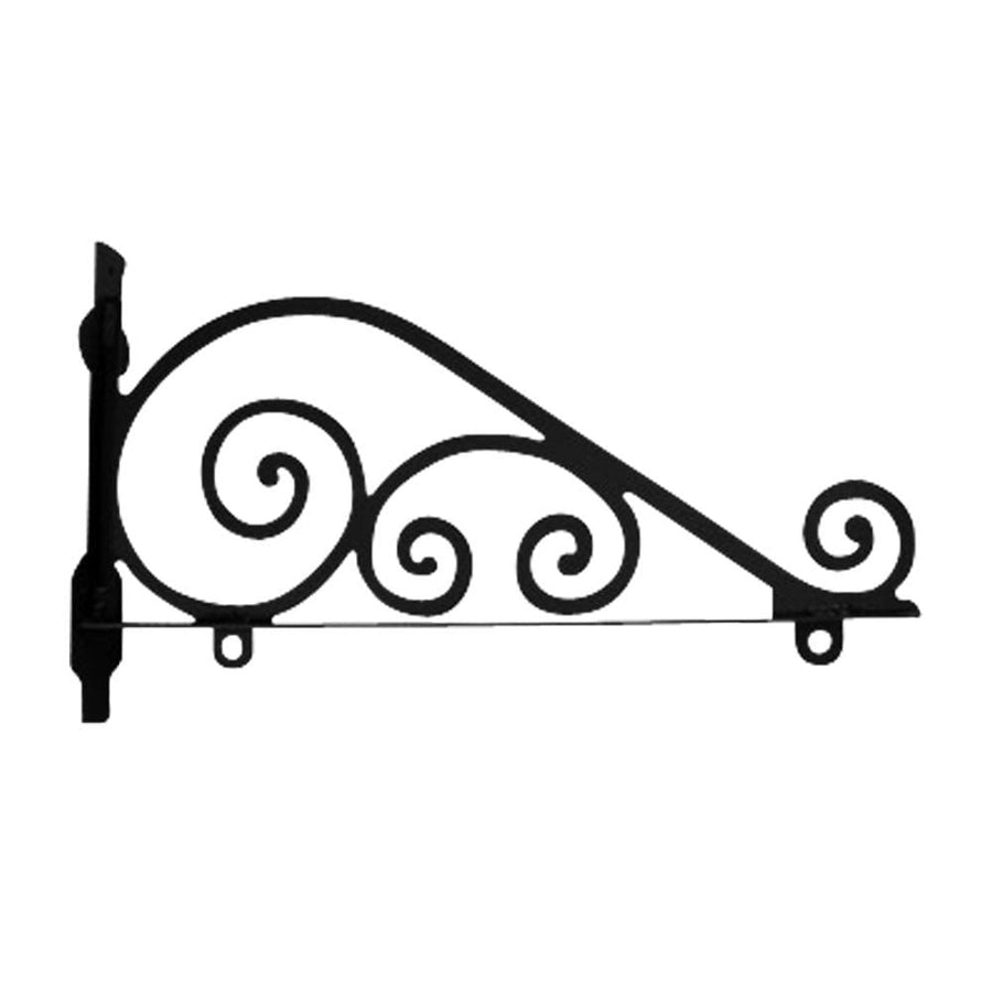 Wrought Iron Traditional Sign Post Bracket 24 in for sale sign for sale sign post house for sale