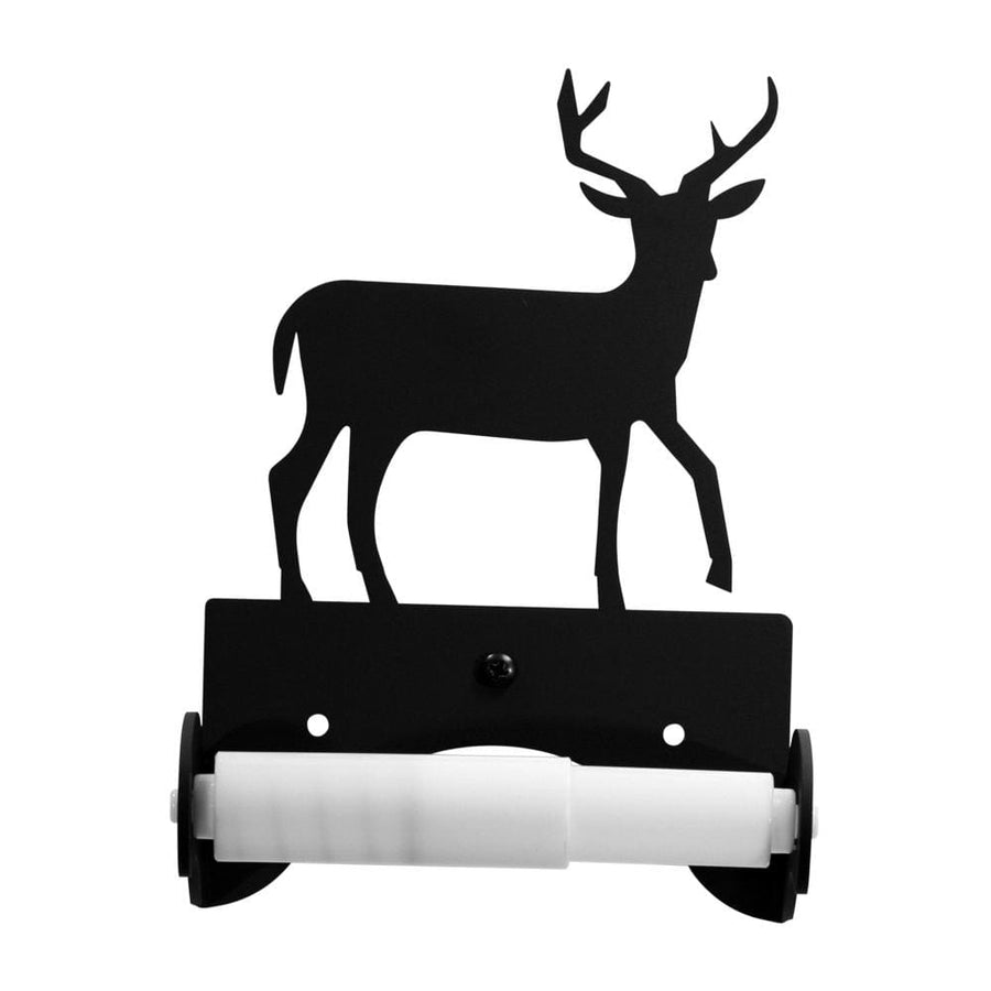 Wrought Iron Traditional Style Deer Toilet Tissue Holder toilet holder toilet paper toilet paper