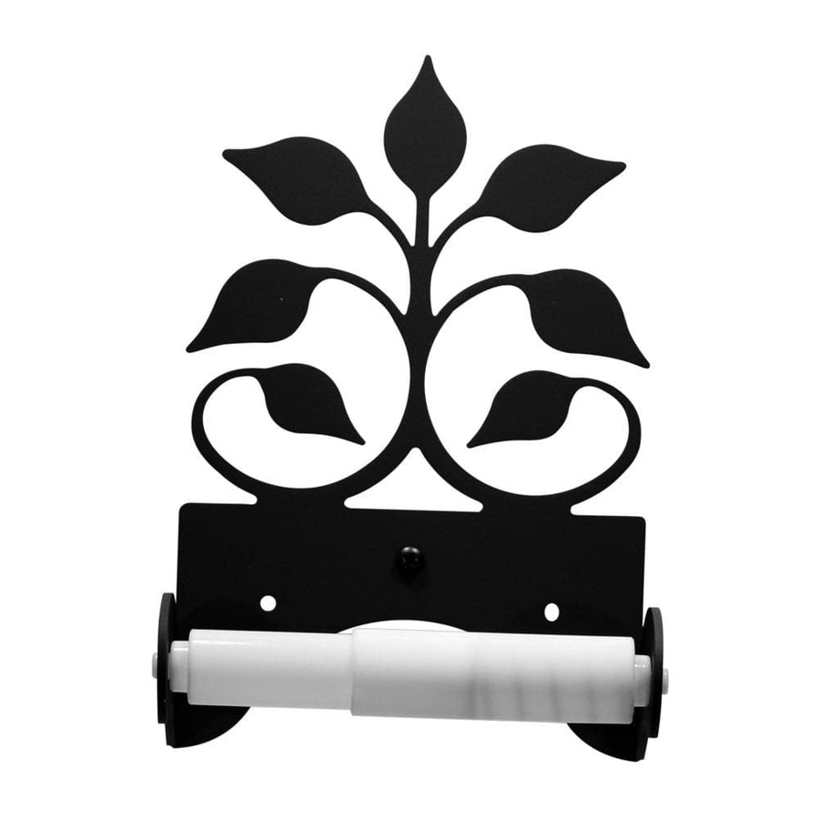 Wrought Iron Traditional Style Leaf Fan Toilet Tissue Holder toilet holder toilet paper toilet paper