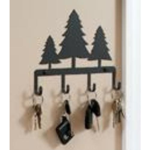Wrought Iron Trees Key Holder Key Hooks key hanger key hooks Key Organizers key rack