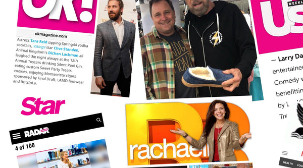 Entertainment Tonight with JP DeJoria & Mark Sweetser (LAMO Marketing Director - Lamo Footwear
