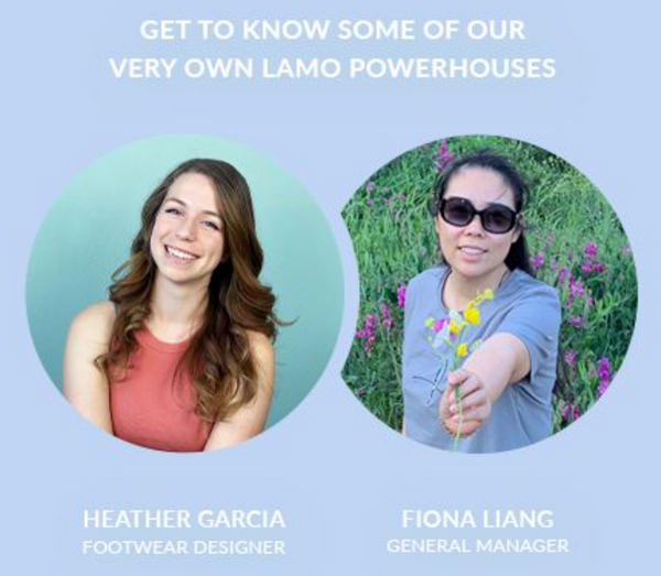 Women's History Month - Get to know LAMO powerhouses Heather & Fiona! - Lamo Footwear