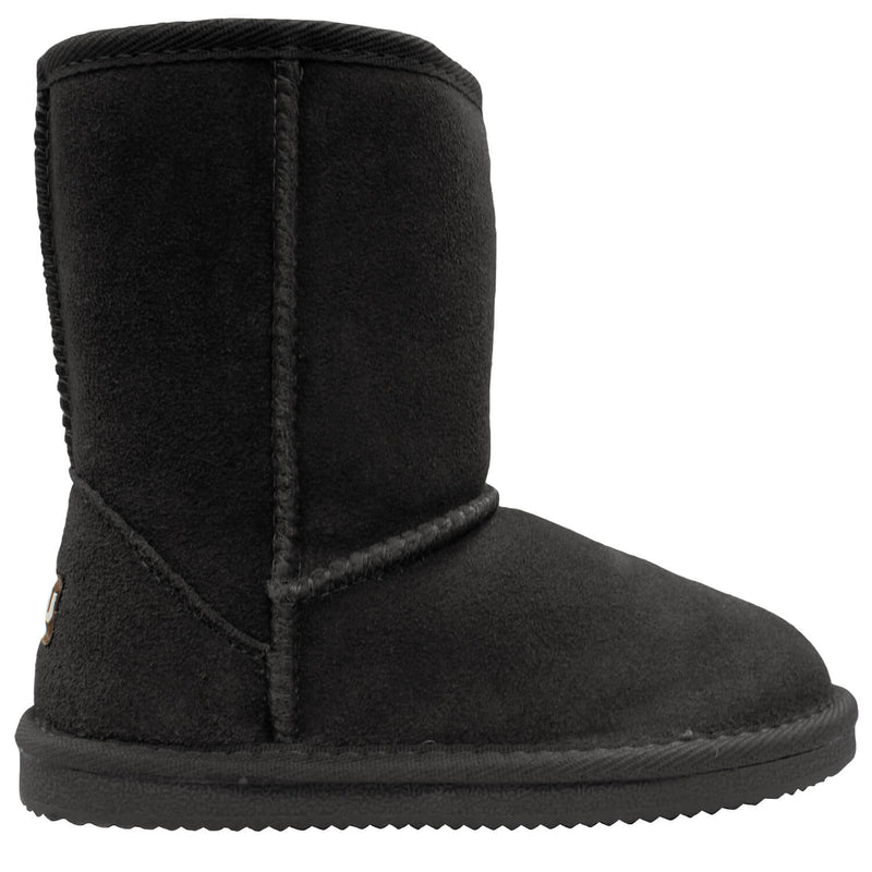 Kids Classic Boot - Black / 1Y - Lamo Footwear