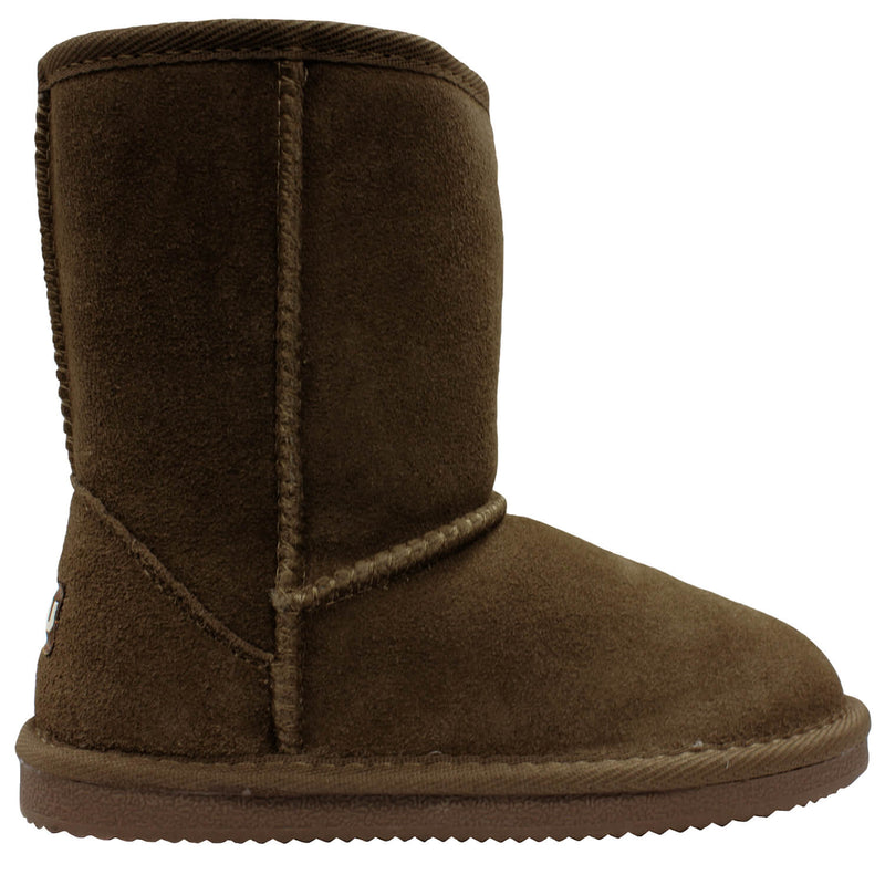 Kids Classic Boot - Chocolate / 1Y - Lamo Footwear