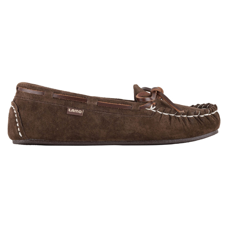 Sabrina Moc Kids Moc - CHOCOLATE / 11Y - Lamo Footwear