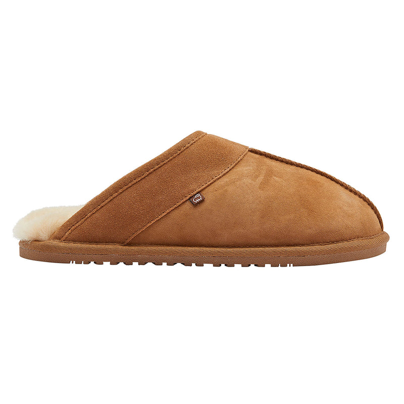 Men's Scuff DoubleFace - Chestnut / Small - Lamo Footwear