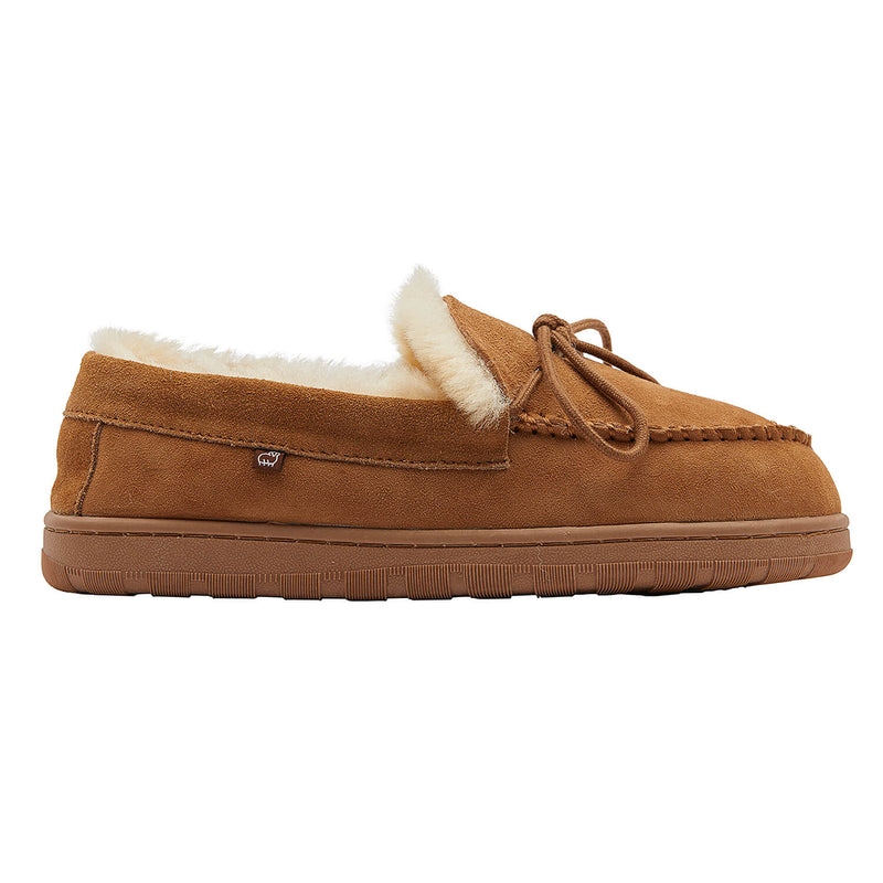 DoubleFace Ladies Moccasin - CHESTNUT / 5 - Lamo Footwear