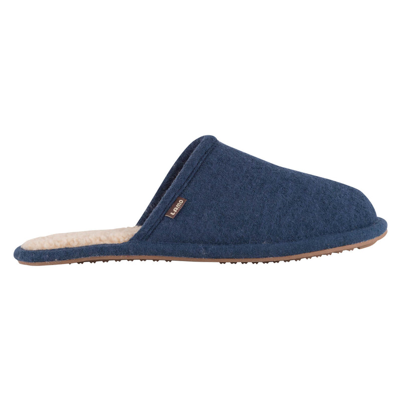 Landon Wool - NAVY WOOL / SMALL (7-8) - Lamo Footwear