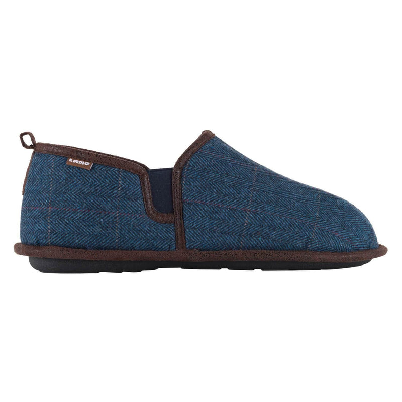 Elk Slipper - Blue Plaid / 7 - Lamo Footwear