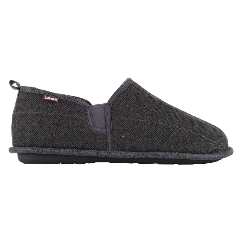 Elk Slipper - Grey Plaid / 7 - Lamo Footwear