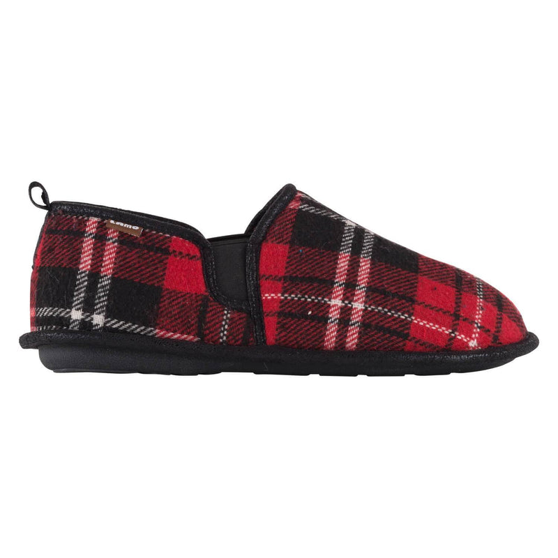Elk Slipper - Red Plaid / 7 - Lamo Footwear