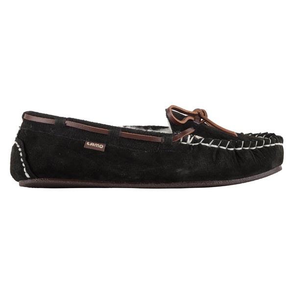Lady's Britain Moc II - BLACK / 5 - Lamo Footwear