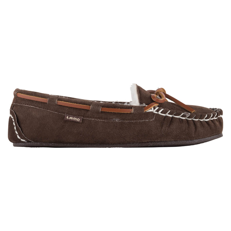 Lady's Britain Moc II - CHOCOLATE / 5 - Lamo Footwear