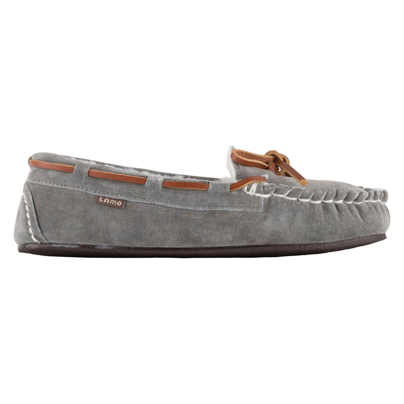 Lady's Britain Moc II - GREY / 5 - Lamo Footwear