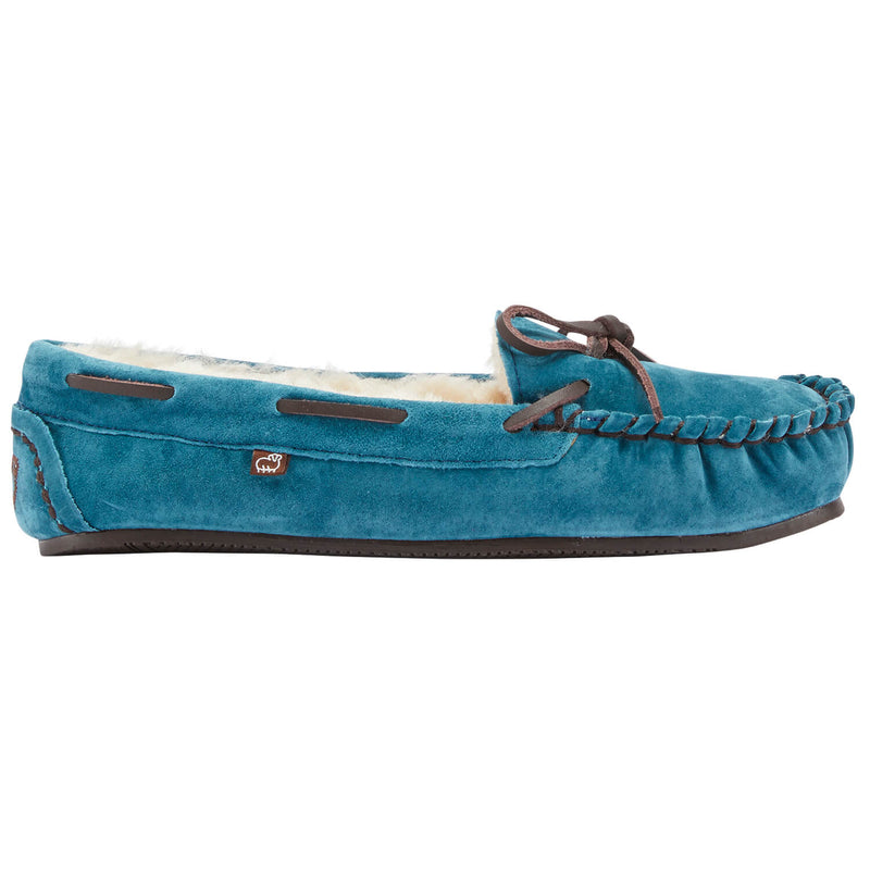 Lady's Britain Moc II - Teal / 5 - Lamo Footwear
