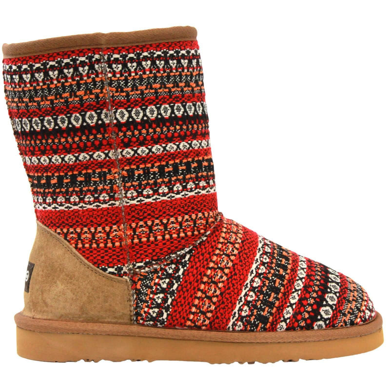 Juarez Boot - Red / 5 - Lamo Footwear