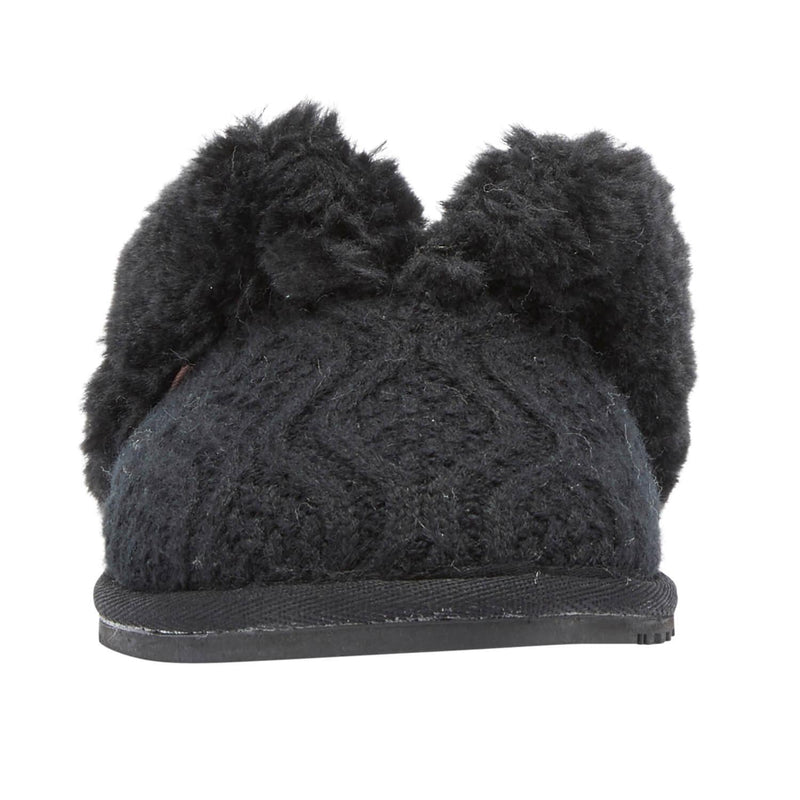 Caroline Knit Scuff - Outlet