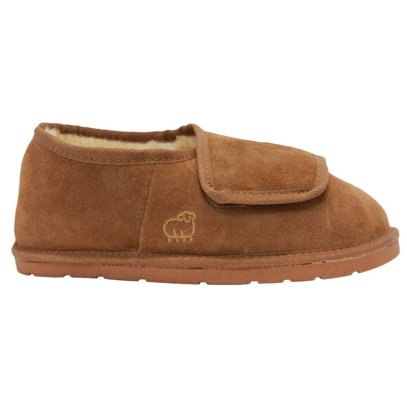 Men's Closed Toe Wrap - Chestnut / S - Lamo Footwear