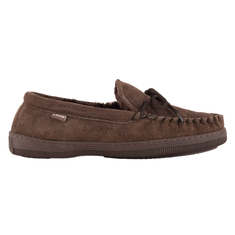 Lady's Moccasin - CHOCOLATE / 5 - Lamo Footwear