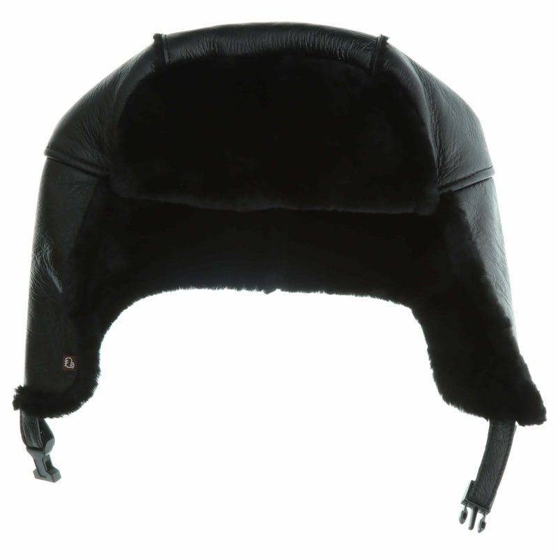 Men's Premium Australian Sheepskin Trooper Hat - [variant_title] - Lamo Footwear