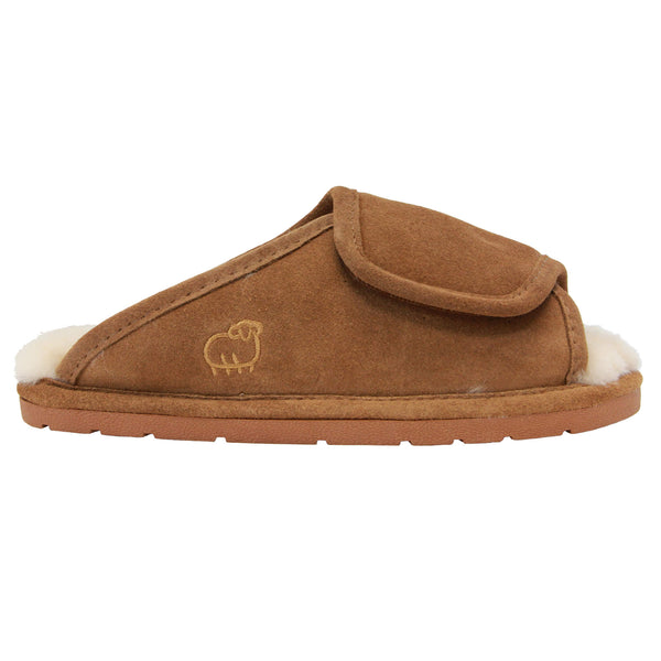 Lady's Sheepskin Wrap - Chestnut / S - Lamo Footwear