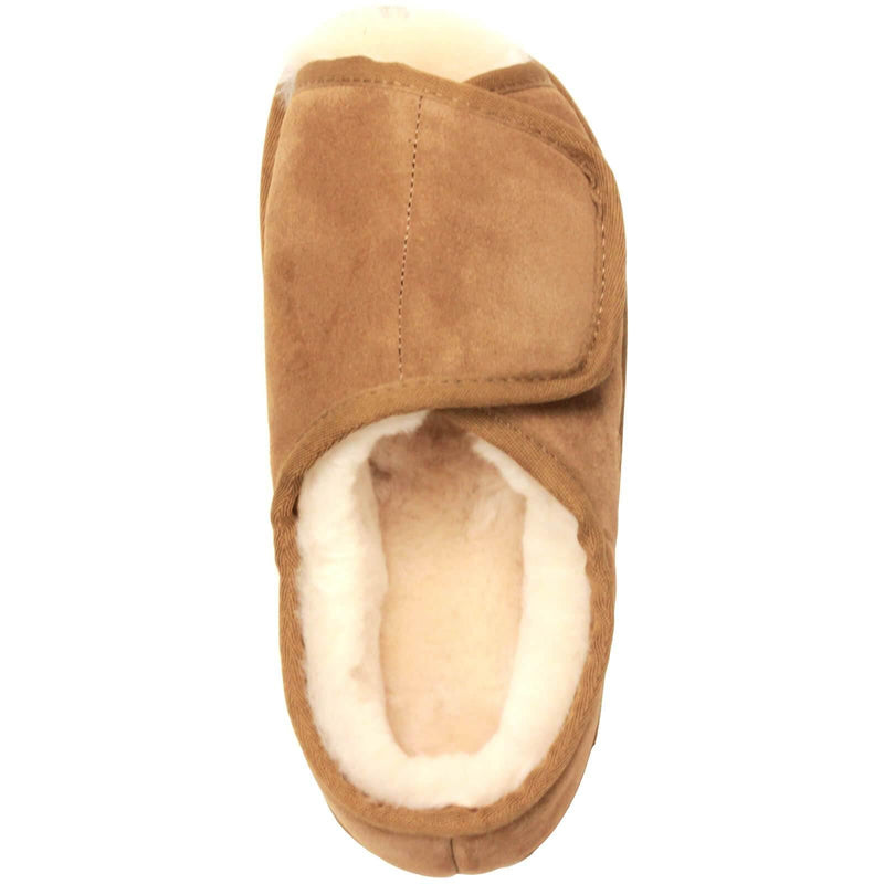 Men's Open Toe With Heel Wrap WIDE - Outlet