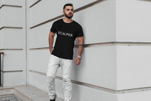 Scalper Black T-Shirt