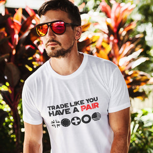 Trade Like You Have A Pair White Hooded Sweatshirt