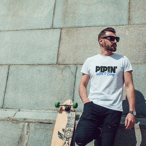 Pipin' Ain't Easy White Short-Sleeve T-Shirt