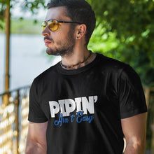 Pipin' Ain't Easy - Black Long Sleeve Fitted Crew