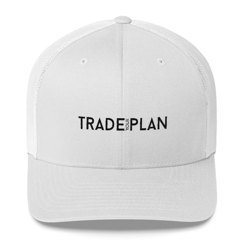 Trade Your Plan White Cap
