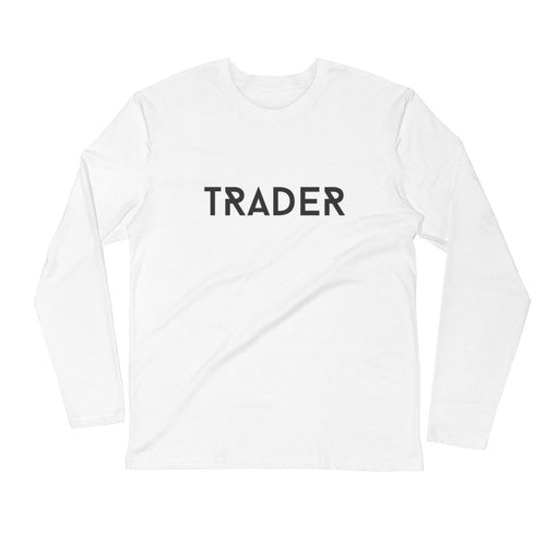 Trader white Long Sleeve